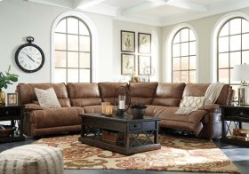 Power Reclining Saddle Sectional with head tilt