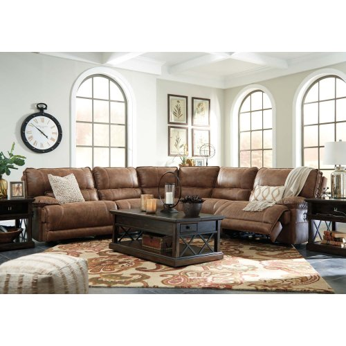 6 Pc Power Reclining Sectional