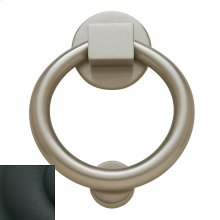 Satin Black Ring Knocker