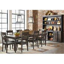 Madison County Rectangle Ext Table - Barnwood