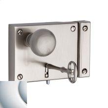 Polished Chrome 5704 Small Horizontal Rim Lock