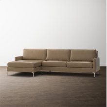 MODERN-Serafina 2 Piece Left Chaise Sectional