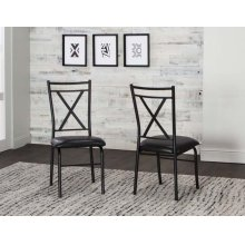Parx X Back Side Chairs 2pk