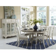 Pine Island Round Table - Old White