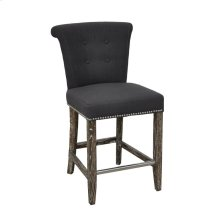 """Vicente Counter Stool 24"""" Gray"""