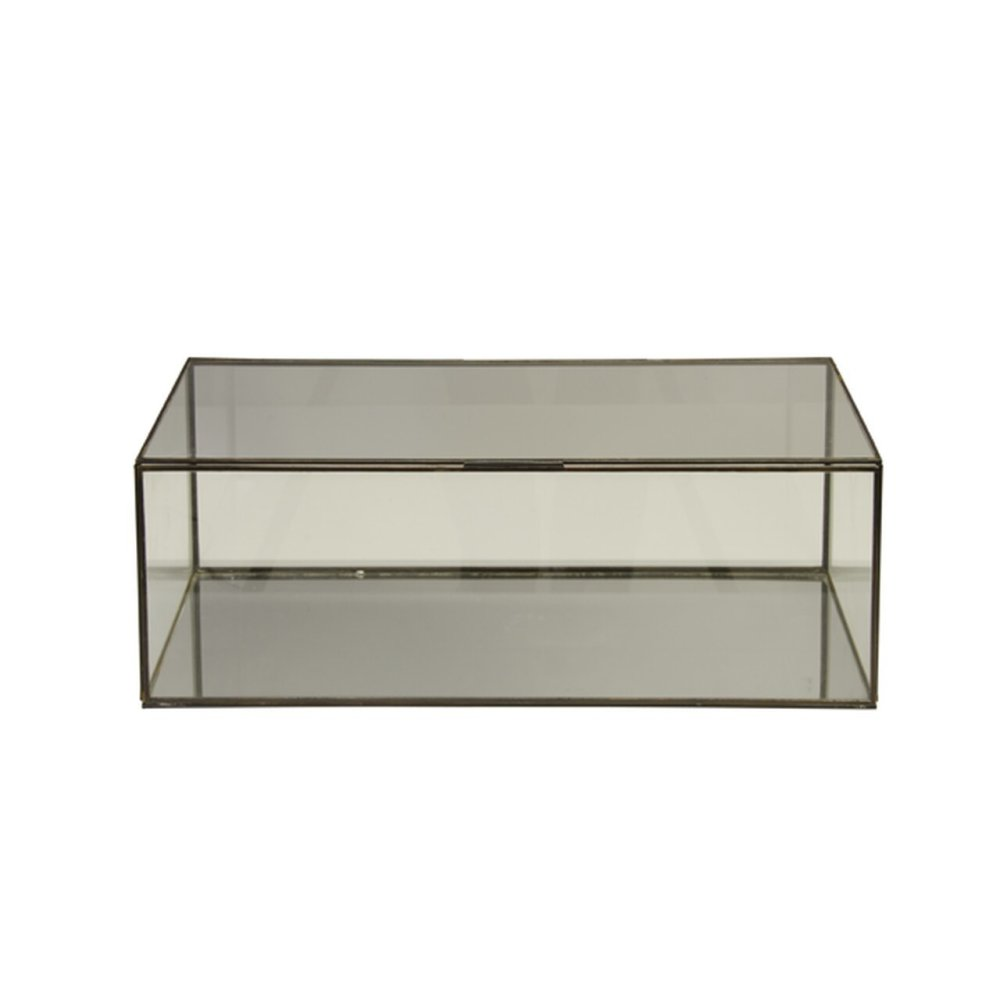 Rectangular Clear Glass Box