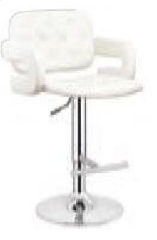 Midland White Bar Stool