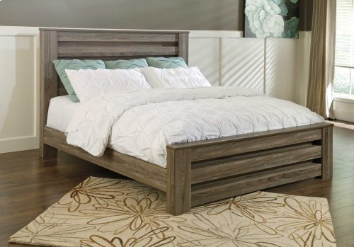Ashley King Poster Bed