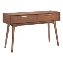 Design District Console Table Walnut