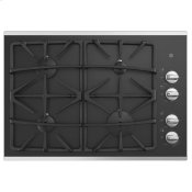 "30"" Built-In Gas on Glass Cooktop with Dishwasher Safe Grates"