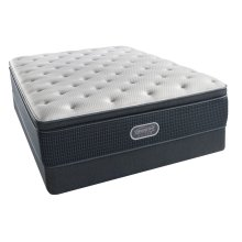 BeautyRest - Silver - Summer Sizzle - Pillow Top - Plush - Queen