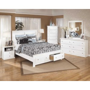 Ashley Furniture Bostwick Shoals - White 9 Piece Bedroom Set