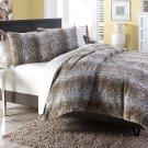 3 pc Queen Duvet Set Brown Product Image