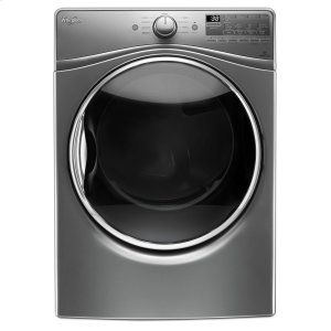 7.4 cu.ft Front Load Electric Dryer with Advanced Moisture Sensing, EcoBoost - CHROME SHADOW