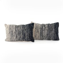 "16x24"" Size Midnight Ombre Pillow, Set of 2"