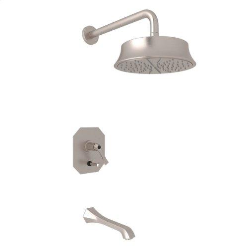 Satin Nickel Bellia Bekit300l Pressure Balance Shower Package