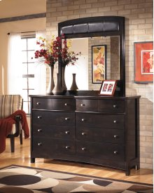 Harmony - Dark Brown 2 Piece Bedroom Set