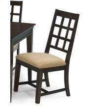 Side Chairs 2 P/ctn - Walnut Finish