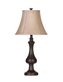 Nidra - Brown Metal Table Lamp