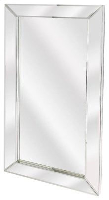 Large rectangular mirrors have always allured womenfolk as traditional vanity mirrors. This simple style mirror will add character and life to the otherwise simple room with the dramatic frame and perfect shape of this mirror. This mirror is sleek, trendy