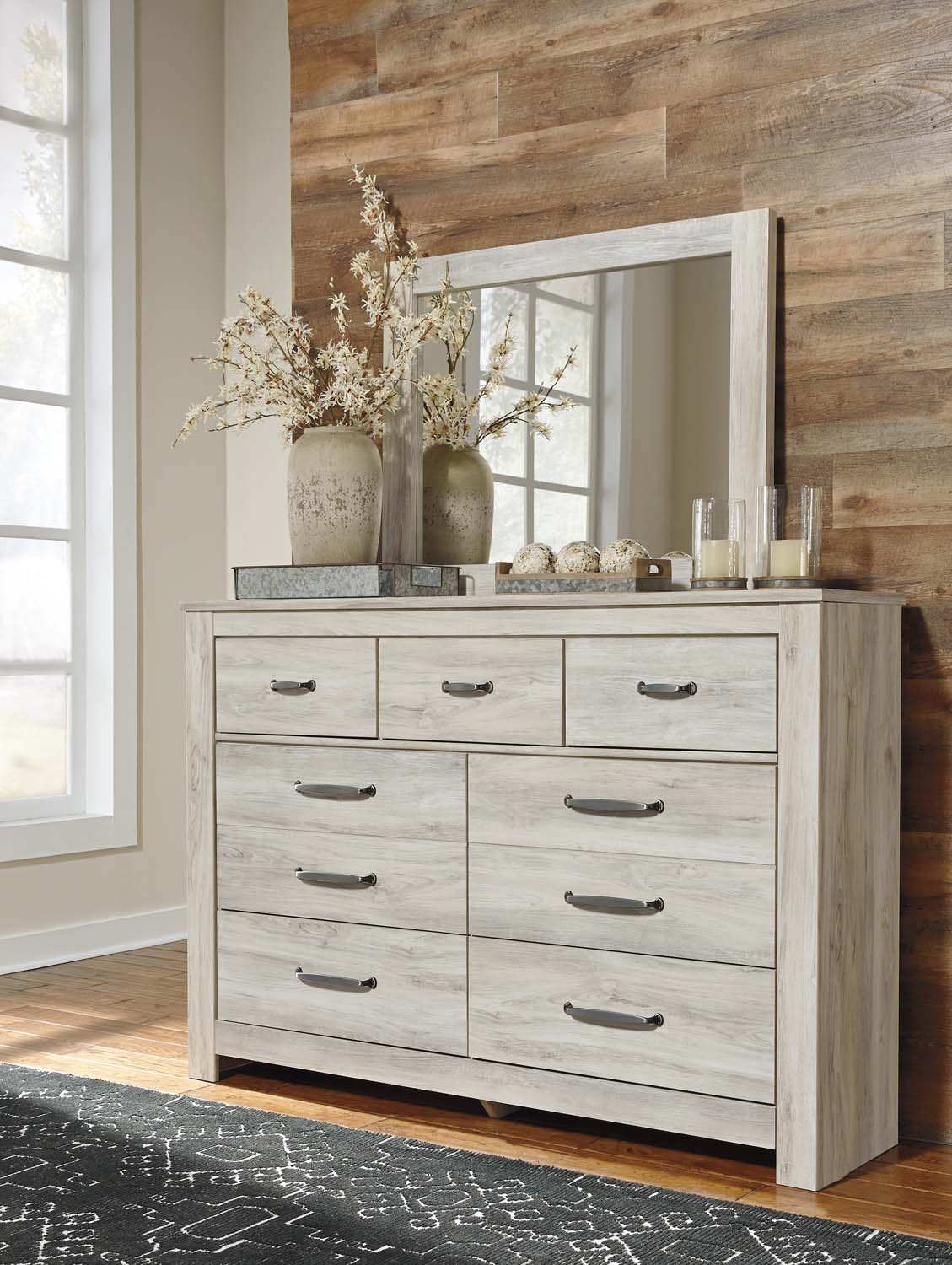 Bellaby   Whitewash 2 Piece Bedroom Set