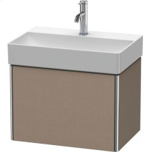 Vanity Unit Wall-mounted Compact, Linen (decor)