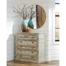 Antique Rustic Accent Cabinet