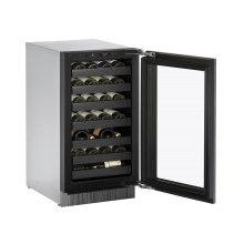 Modular 3000 Series 45 Cm Wine Cellar With Integrated Frame Finish and Field Reversible Door Swing (220-240 Volts / 50 Hz)