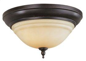 Belle Foret ceiling mount light in oil rubbed bronze