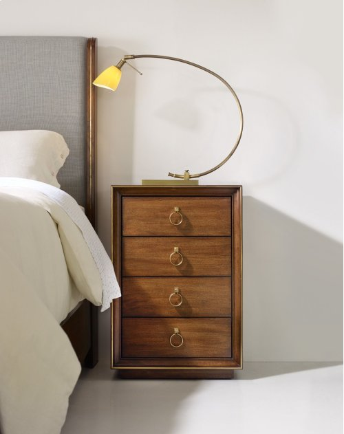Bedroom Roman Four-Drawer Nightstand