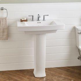 Townsend Pedestal Sink  8-inch Centers  American Standard - White