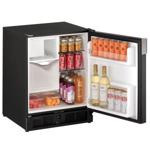 "U-Line21"" Refrigerator/ice Maker With Black Solid Finish (115 V/60 Hz Volts /60 Hz Hz)"