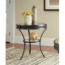 Industrial Black Side Table