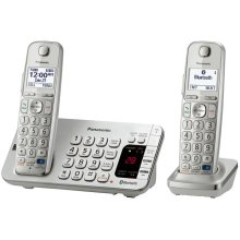 Link2Cell Bluetooth® Cordless Phone with Large Keypad - 3 Handsets - KX-TGE273S