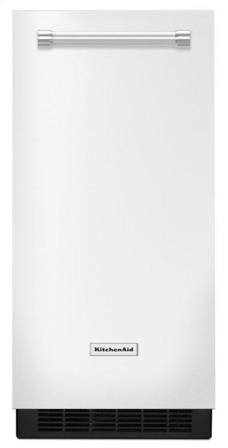 KitchenAid™ 15'' Automatic Ice Maker White