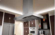 """SAVE-SAVE-SAVE - BRAND NEW BOXED ZEPHYR Roma, Island, 36"""", SS, 600 CFM, ACT TECHNOLOGY"""