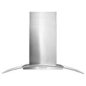 "Maytag36"" Concave Glass Wall Mount Range Hood"