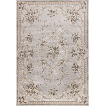 "Avalon 5604 Light Grey Aubusson 5'3"" X 7'7"""
