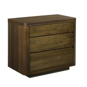 AD Modern Organics Hays Three Drawer Nightstand Product Image