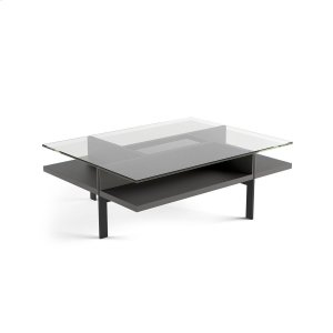 Bdi FurnitureRectangular Coffee Table 1152 in Charcoal Stained Ash