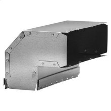 Vertical Elbow Transition for Range Hoods and Bath Ventilation Fans