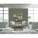 Hemet Light Grey Modern Loveseat Product Image