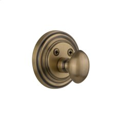 Nostalgic - Single Cylinder Deadbolt Keyed Differently - Classic in Antique Brass