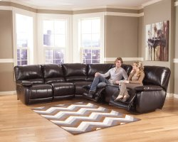 Capote DuraBlend® - Chocolate 4 Piece Sectional
