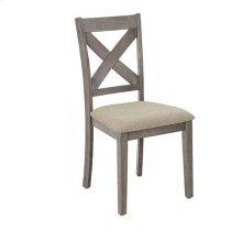 Dining Chairs (2/Ctn) - Mystic Gray Finish