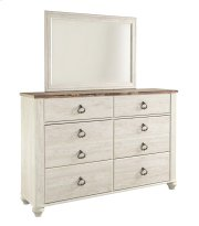 Willowton - White Wash 2 Piece Bedroom Set Product Image