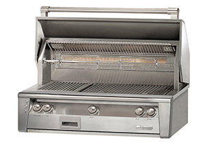 "Alfresco Grills42"" Axle Built-In Grill With Sear Zone"
