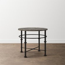 Verona Metal Round End Table