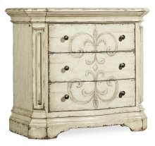 Bedroom Auberose Three-Drawer Nightstand