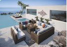 Alta Grande - Beige/Brown 6 Piece Patio Set Product Image